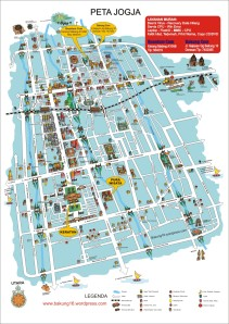 Peta kota jogja