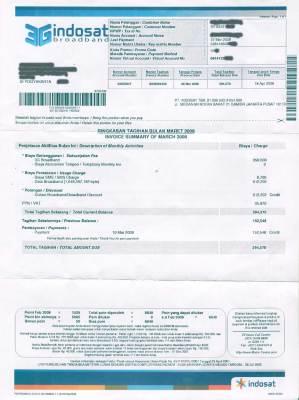 billing tagihan indosat