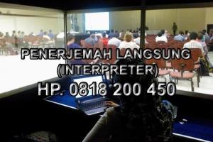 sewa alat interpreter di Jogja
